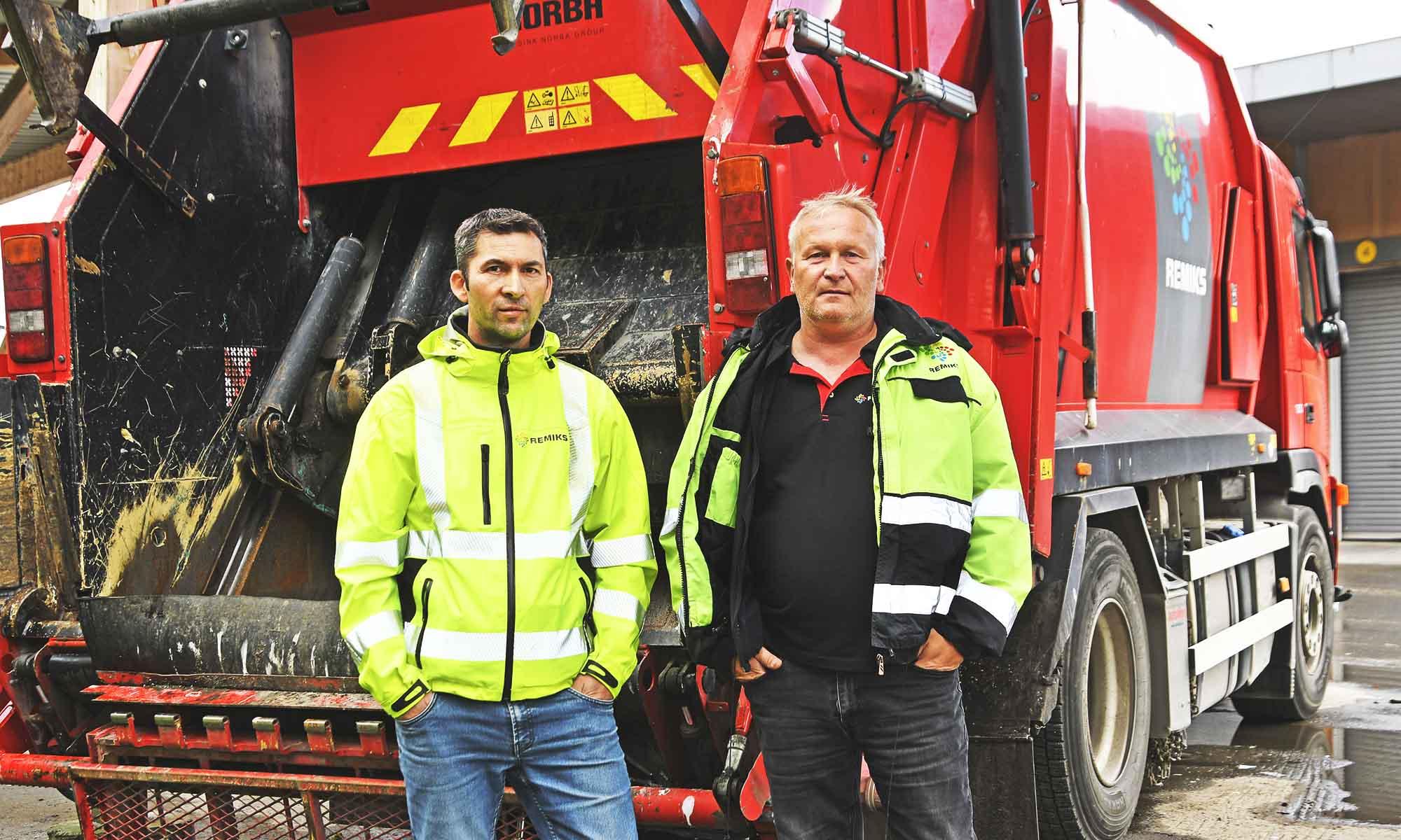 Nicolai Sebergsen og Rune Olsen